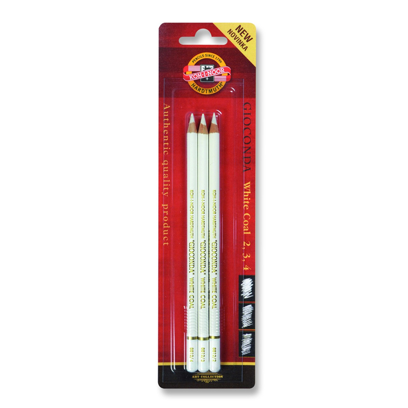Packs of 5 Koh-I-Noor Extra Hard Erasers for Pastel Pencil Ink and Charcoal