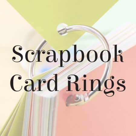 Srapbook Card Rings