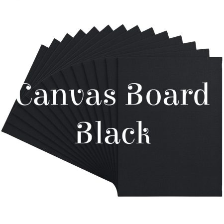 Canvas Board Black