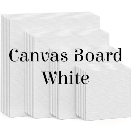 Canvas Board White