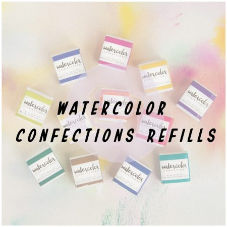 Watercolor Confections Refills